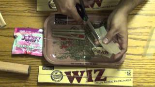 How To Roll A Raw Braid / Twist (braided RAW rolling paper)