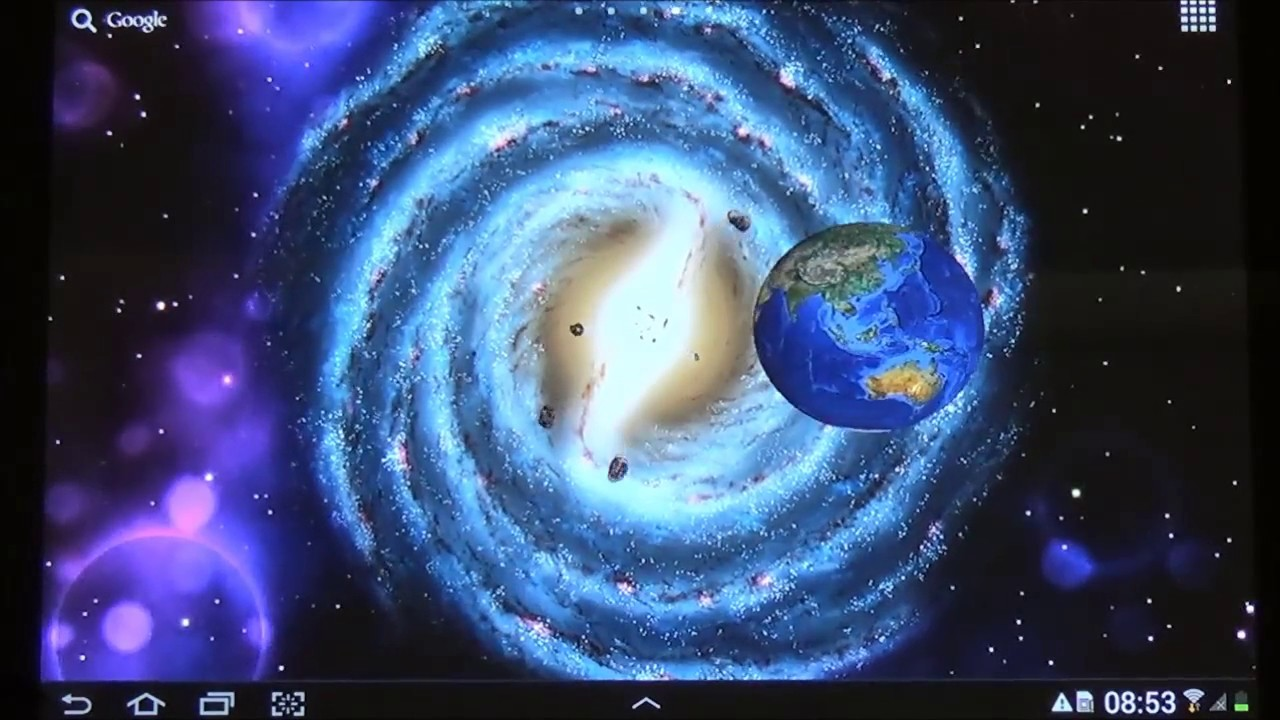 Space 3D Live Wallpaper For Android
