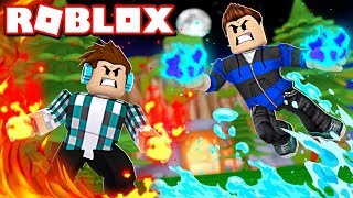 ROBLOX-POWER OF WATER, FIRE, EARTH and AIR! (Elemental Powers Roblox)