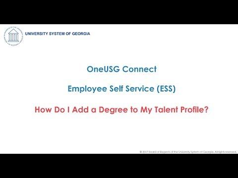 Employee Self Service ESS