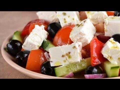 Как приготовить греческий салат Простой рецепт