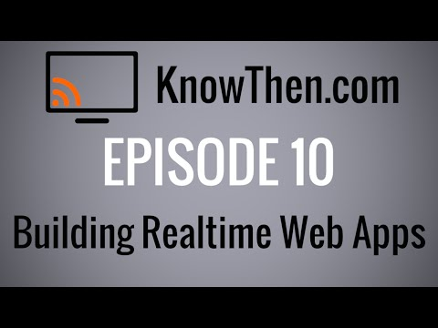 Building Realtime Web Applications Just Got Easy