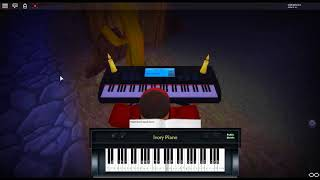 Little - Fugue in G Minor BWV 578 by: J.S. Bach on a ROBLOX piano.