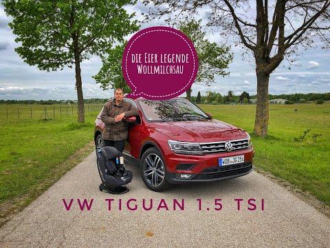 2019 VW Tiguan 1.5 TSI Comfortline - Test - Review - Familientest - Ubitestet