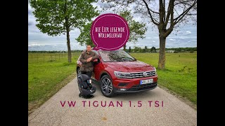 2019 VW Tiguan 1.5 TSI Comfortline - Test - Review - Familientest - Ubitestet