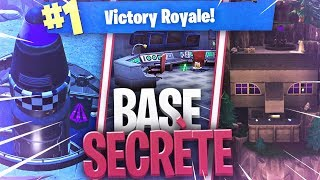 🥇 THE BEST SECRET BASE - THE NEW TILTED TOWER! Season 4 Fortnite Battle Royale