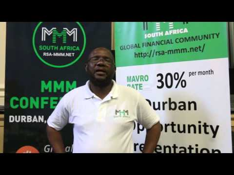 MMM South Africa Team Captain (Sir Vusi Mlambo) - Interview post-DURBAN RALLY