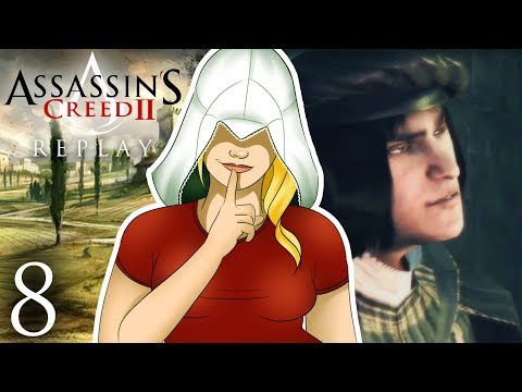 SLAYING A SNAKE - Assassin's Creed 2 REPLAY (Part 8)