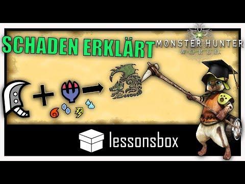 Schaden, Affinität und Elementschaden in Monster Hunter World berechnen - Lessonsbox thumbnail