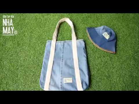 DIY – Hướng dẫn may túi tái chế siêu chất từ quần bò cũ (Easy way to recycle a bag from old jean)