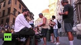 Флорентийцы демонстративно съели блюда тосканской кухни в знак протеста против McDonald's