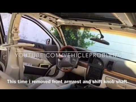 Lincoln Continental headliner sun visors replacement install removal repair recover issue