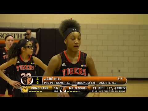High School Girls Basketball: 2017 Twin Cities Game - Como Park vs. Mpls South