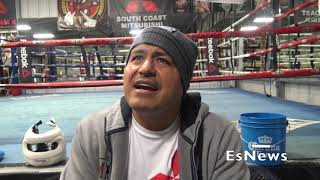 Robert Garcia Talks Mikey Camp Changes Oscars Tweet \u0026 Training A Women Fighter EsNews Boxing
