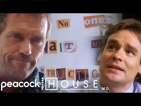 House's Guitar Taken Hostage | House M.D.