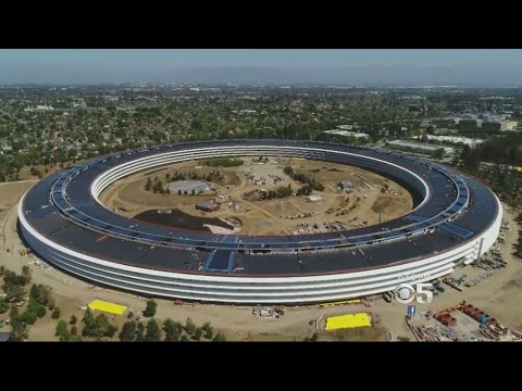 """Apple's New """"Space Ship"""" Campus Lands In Bay Area Growth Debate"""