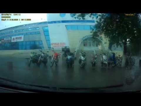 Ураган в Рубцовске