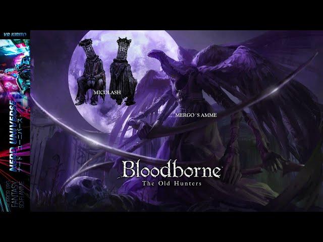 BloodBorne #15 Double Boss Time: Micolash & Mergos Amme ☬ Livestream [DE]