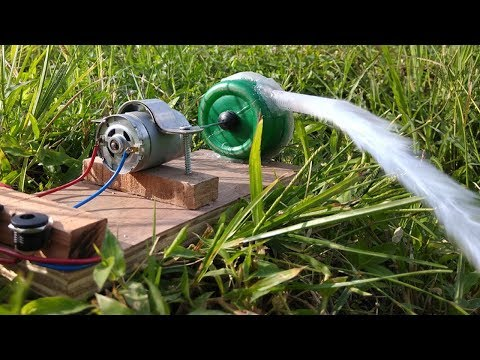 Home Made Water Pump