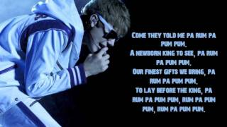 Justin Bieber - Drummer Boy (Lyrics)  ft. Busta Rhymes + Download
