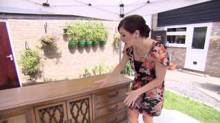 Leah Has Renato Upcycle An Old Sideboard - Peter Andre's 60 Minute Makeover