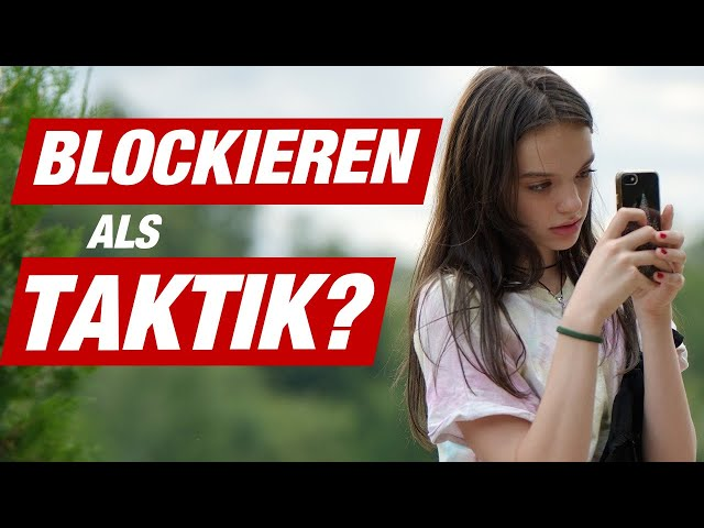 Mädchen / Frau blockieren, wenn sie kein Interesse hat? 🚫 | Dating in 60 Sek