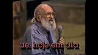 Serginho Groisman entrevista Paulo Freire.