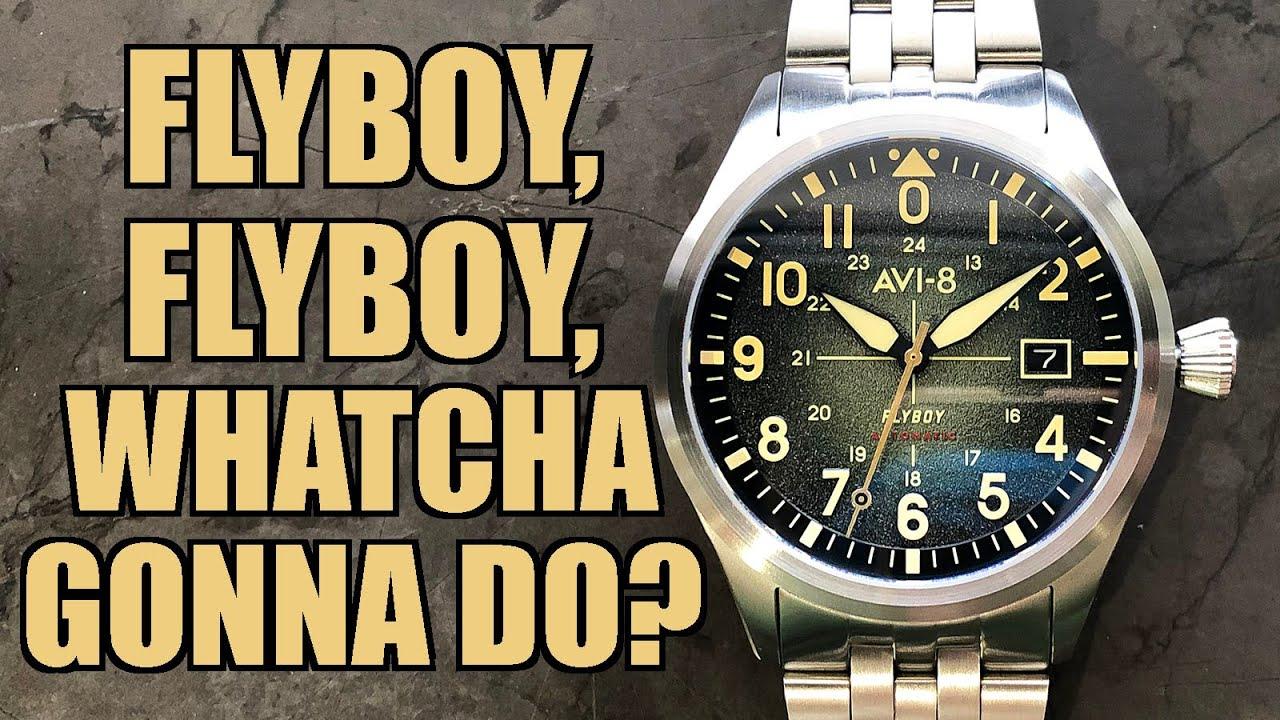 "AVI-8 Flyboy Engineer ""Sydney"" Automatic Review (AV-4075) - Perth WAtch #343"