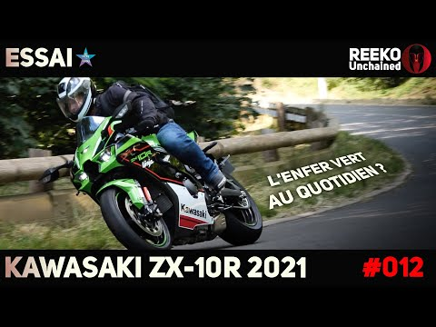 KAWASAKI ZX10R 2021   ESSAI ROUTIER 🔴 REEKO Unchained