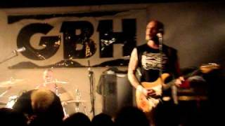 GBH - No Survivors - LIVE in Auckland New Zealand, October 2010