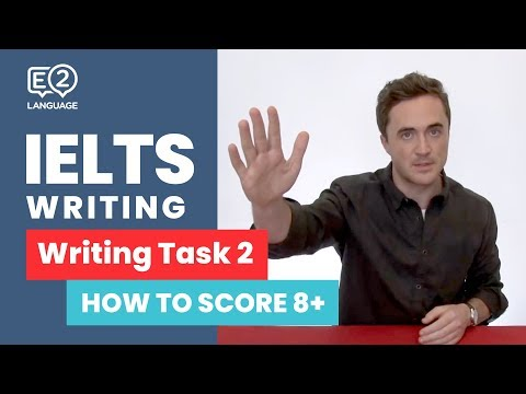 E2 IELTS Writing | How to score 8+ in Writing Task 2 with Jay!