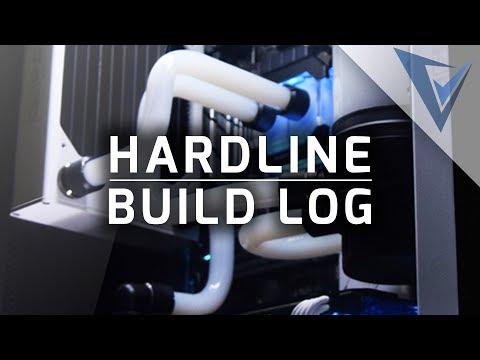 Build Log - Hardline - White Liquid Watercooled GeForce GTX 1070 Gamer PC
