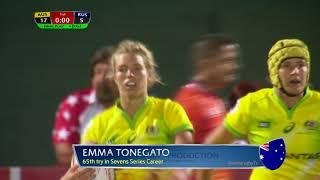 Womens 7s Dubai 2017 Russia vs Australia