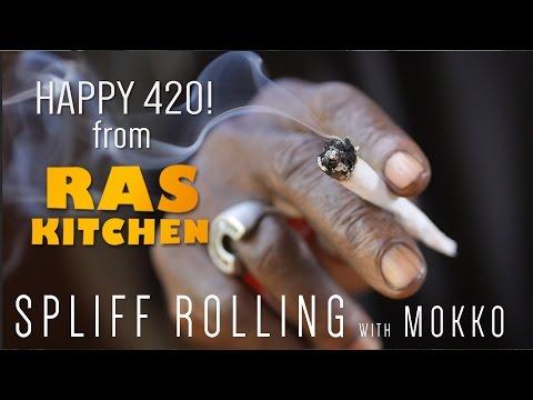 Happy 420! Spliff Rolling with Rasta Mokko