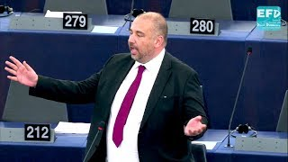 Protection from foreign interference is a clamp down on free speech - Bill Etheridge MEP