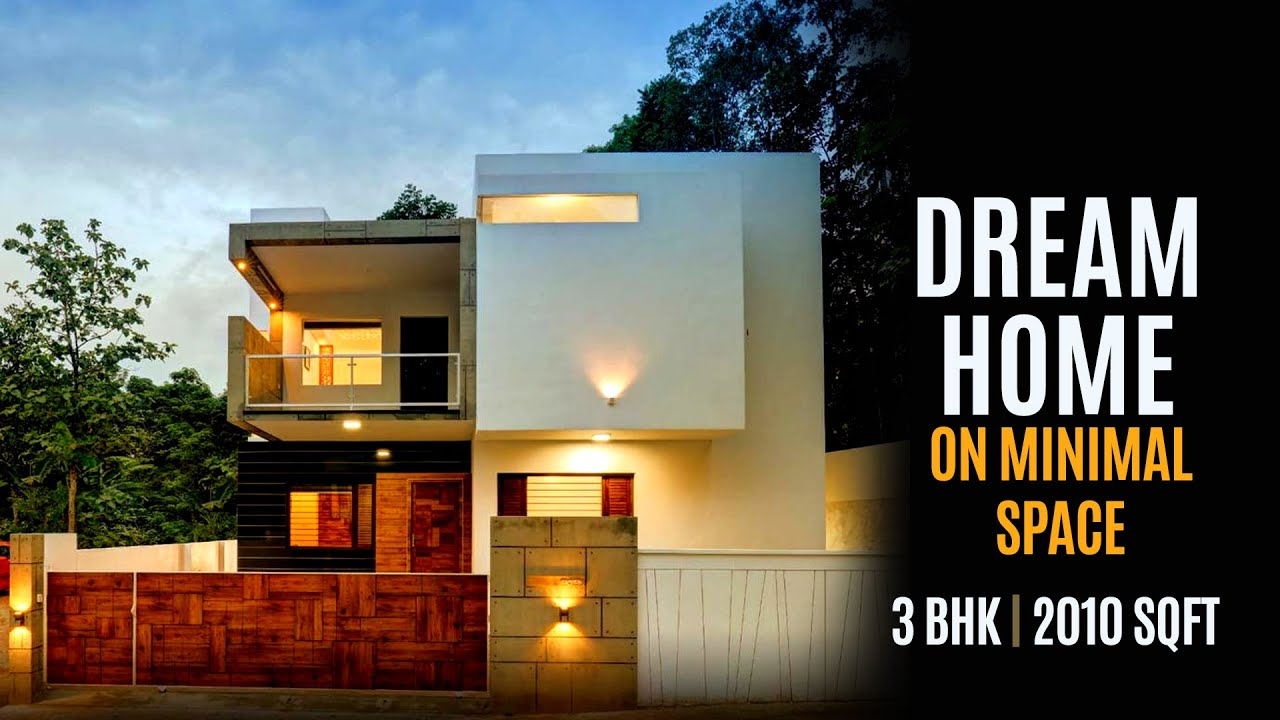 3 BHK | 2010 Sqft | Modern Box type Elevation | Kerala Home Design for Middle class | SDC Architects