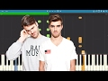 The Chainsmokers - The One - Piano Tutorial