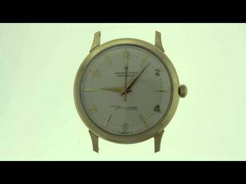 Vintage Hamilton Masterpiece Watch
