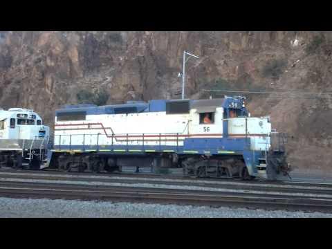 Freeport McMoRan Industries Railway in Clifton, AZ (Part 1)