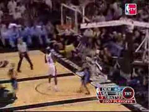 Denver Nuggets vs. San Antonio Spurs Game 1 - Playoffs 2007