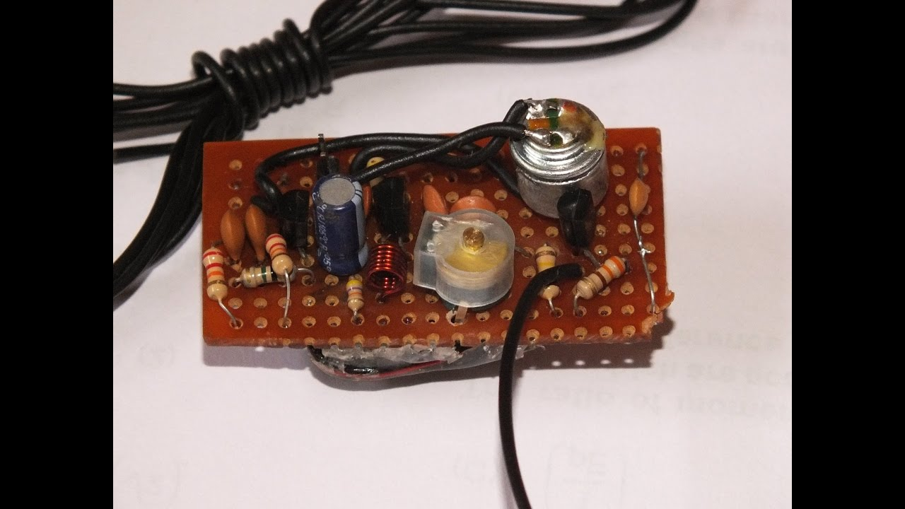 Super Simple And Stable Fm Transmitter Youtube Circuit With High Frequency Stability Free Electronic