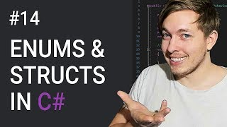 14: Structs And Enums In C#   How To Use An Enum   C# Tutorial For Beginners   C Sharp Tutorial