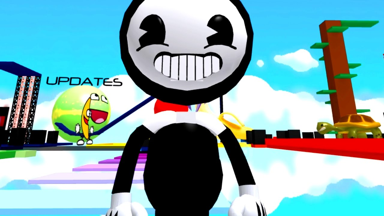 Escape The Bendy Obby In Roblox Radiojh Games Youtube