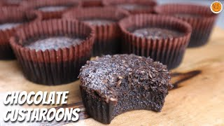 CHOCOLATE CUSTAROONS // LECHEROONS | How To Make Chocolate Custard Macaroons | Mortar and Pastry