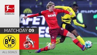 Haaland Miss & Skhiri Brace to Shock BVB | Dortmund - 1. FC Köln | 1-2 | All Goals | Matchday 9