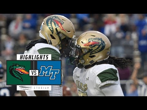 UAB vs. Middle Tennessee Football Highlights (2018) | Stadium
