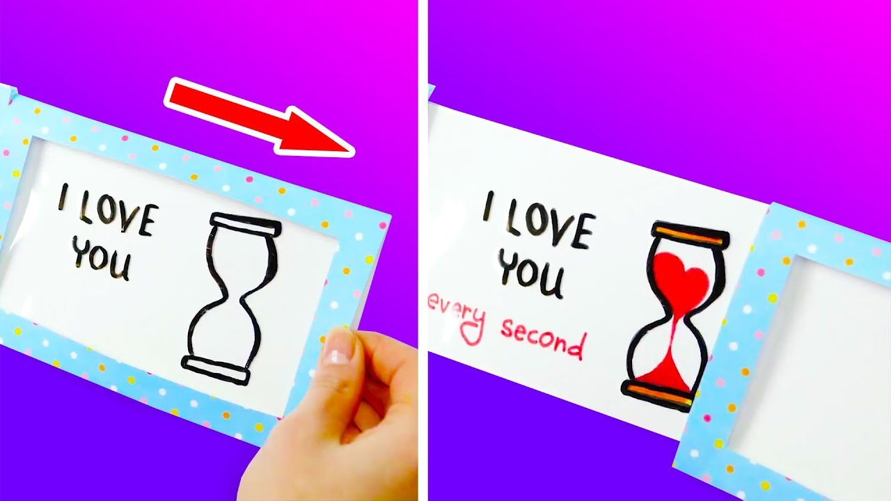 10ad50a4b2a6 16 COOL DIY CARDS ANYONE CAN MAKE - YouTube