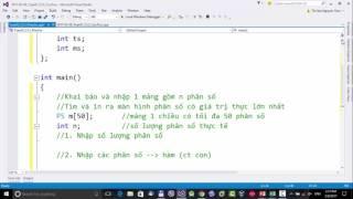 Kỹ thuật lập trình UTE: (Buổi 01_1) Kiểu cấu trúc, cấu trúc phân số