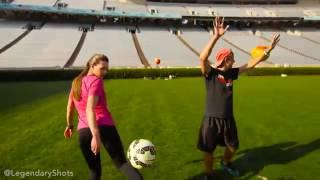 Freestyle Soccer Trick Shots  Legendary Shots & Indi Cowie