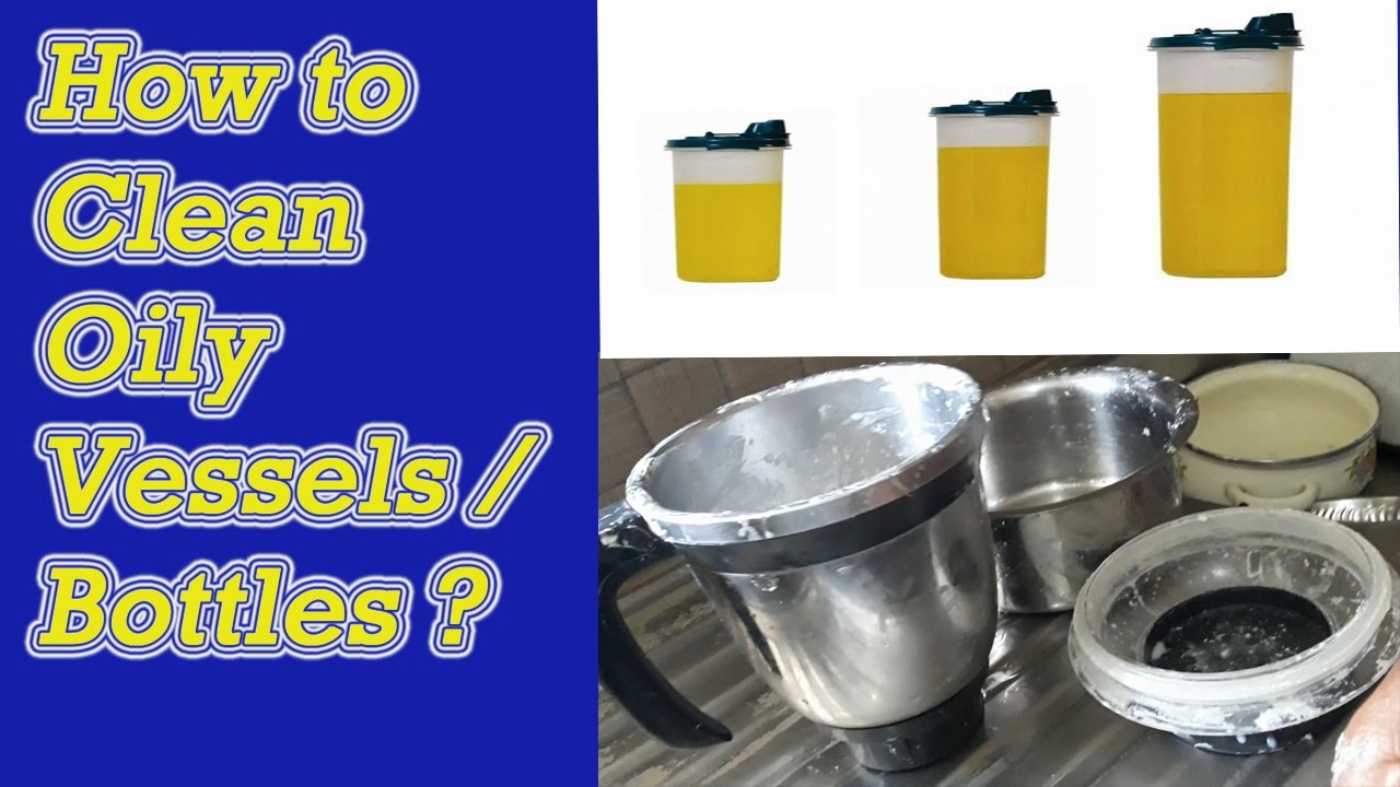 How To Clean Oily Vessels In Tamil Tips For Cleaning Kitchen You